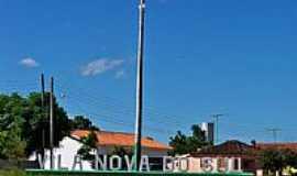 Vila Nova do Sul - Pórtico da cidade-Foto:Roque Oliveira