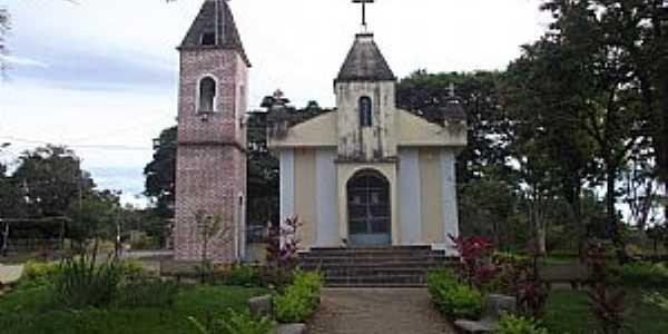 Vista Alegre-RS-Igreja de Santo Antônio-Foto:somenteigrejas.blogspot.com