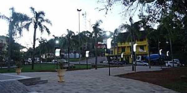 Vista Alegre-RS-Praça da Matriz-Foto:Felipe Boschi
