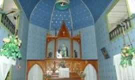 Vista Alegre do Prata - interior igrja pompéia,pintada a mão-donin, Por ALCEU DONIN