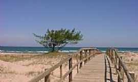 Xangri-Lá - Xangri-Lá-RS-Passarela nas dunas-Foto:Adyl Perucchi
