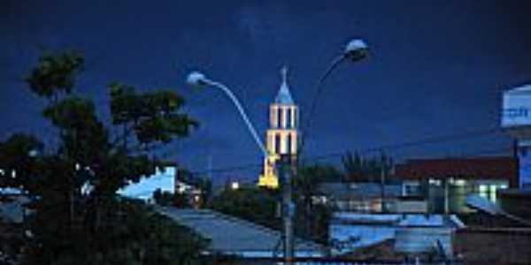 Xangri-Lá-RS-Vista noturna do centro-Foto:Cris Tafras