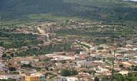 Miguel Calmon - Vista da cidade com a Serra ao fundo em Miguel Calmon-BA-Foto:sluizcampos