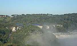 Abelardo Luz - As belas quedas do Xapec� em Abelardo Luz-SC-Foto:Henrique von Hertwig�
