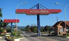 Agrolândia - Agrolândia-SC-Pórtico de entrada-Foto:Sidnei Recco