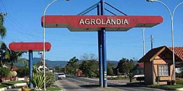 Agrolândia-SC-Pórtico de entrada-Foto:Sidnei Recco