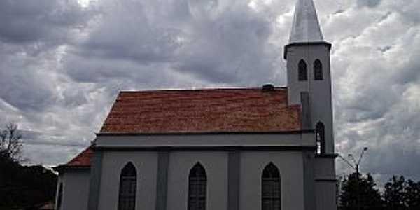 Agronômica-SC-Igreja de Confissão Luterana-Foto:Angelo Carlos Ronchi