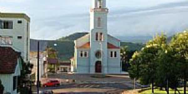 Igreja Matriz em Água Doce-SC-Foto:Diego Augusto Luches…