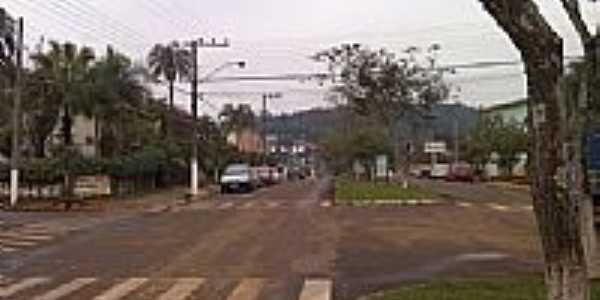 Avenida em Águas de Chapecó-SC-Foto:souomarcel