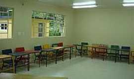 Aguti - Sala de aula da nova escola