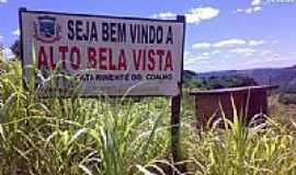 Alto Bela Vista - Entrada da cidade de Alto Bela Vista-SC-Foto:Rafa Lourenco