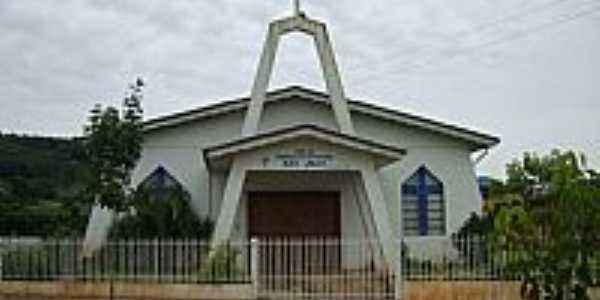 Alto Bela Vista-SC-Igreja de Confissão Luterana-Foto:Auri Brandão