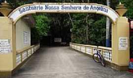 Angelina - Entrada do Santuário de N.Sra.de Angelina-Foto:Angelo Carlos Ronchi