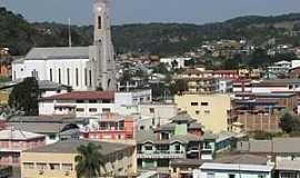 Anita Garibaldi - Anita Garibaldi-SC-Vista da área central da cidade-Foto:www.clmais.com.br