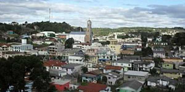 Anita Garibaldi-SC-Vista da área central da cidade-Foto:bandsc.com.br