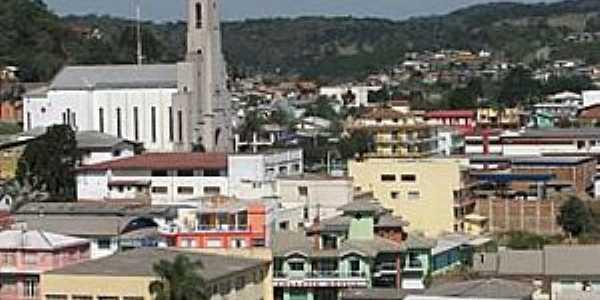 Anita Garibaldi-SC-Vista da área central da cidade-Foto:www.clmais.com.br