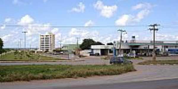 Trevo de acesso de Luiz Eduardo Magalhães-BA-Foto:cerrado