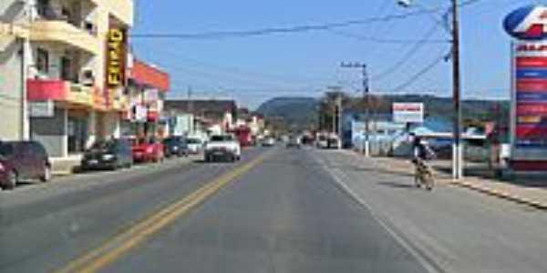 Rua central de Apiúna-SC-Foto:Elias Coelho