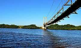 Araquari - Ponte Pênsil da Barra do Itapocu