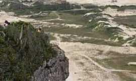 Araranguá - Vista do Morro dos Conventos em Araranguá-SC-Foto:Brenner W. C.