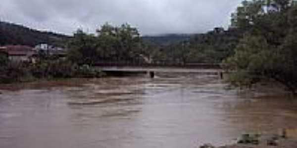 Rio Itajaí Açu-Foto:Edison Krüger