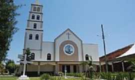 Balne�rio Arroio do Silva - Igreja Matriz em Balne�rio Arroio do Silva-SC-Foto:Marlon Antonelli
