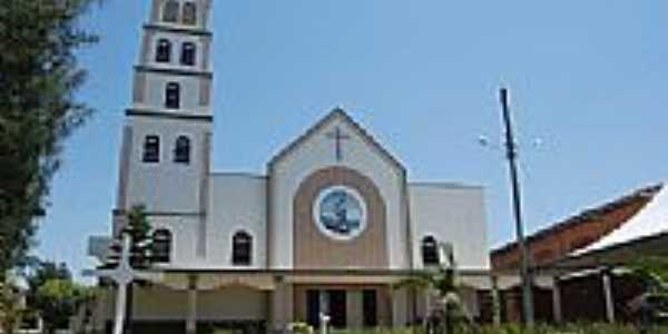 Igreja Matriz em Balne�rio Arroio do Silva-SC-Foto:Marlon Antonelli
