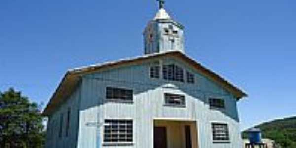 Igreja de Madeira em Barra Grande-Foto:grigolo