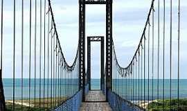 Barra Velha - Barra Velha-SC-Ponte P�nsil-Foto:Jakson Santos
