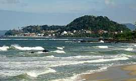 Barra Velha - Barra Velha-SC-Praia do Grant e a cidade-Foto:Valmice Vieira
