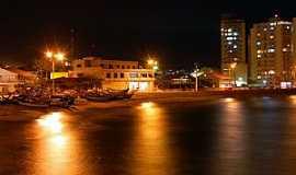 Barra Velha - Barra Velha-SC-Vista noturna da  Praia das Canoas-Foto:Jakson Santos