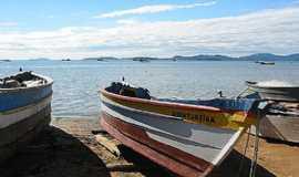 Bigua�u - Barcos de pesca em Bigua�u-Foto:Eric Muzamba