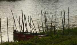 Bigua�u - Beira do Rio Bigua�u em Bigua�u-Foto:Silverio Luiz Soligo