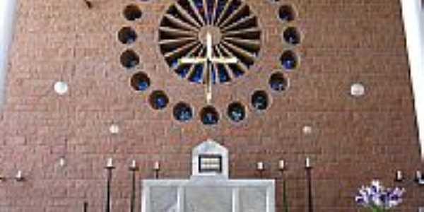 Blumenau-SC-Altar da Catedral de São Paulo Apóstolo-Foto:RogérioP.D.Luz