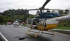 Bocaína do Sul - Resgate aéro na BR 282 - PRF