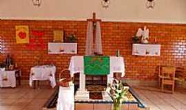 Bom Jardim da Serra - Bom Jardim da Serra-SC-Altar da Igreja do Divino Espírito Santo-Foto:Sidnei Recco