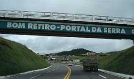Bom Retiro - Bom Retiro-SC-Viaduto na Rodovia BR-282-Foto:cicero r maciel
