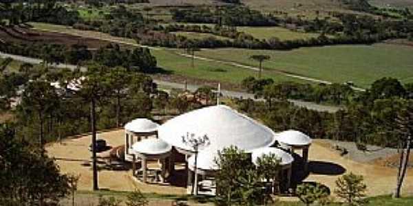 Bom Retiro-SC-Santuário de N.Sra.Aparecida-Foto:www.bomretiro.sc.gov.br