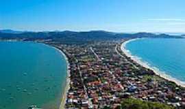 Bombinhas - Vista de Canto Grande em Bombinhas-SC-Foto:Carlos Colonetti Net…