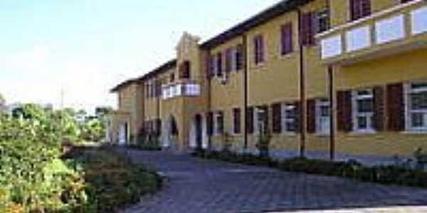 Casa das Irm�s do Instituto Servian em Bra�o do Norte-Foto:carlinhos eletr�nica�