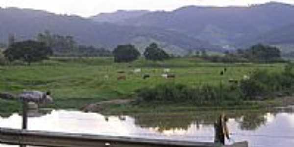 Vista de �rea rural de Bra�o do Norte-Foto:carlinhos eletr�nica�