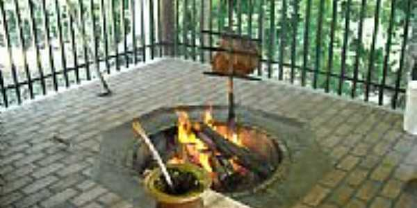 Costela fogo no chão-Foto:jaqueskratz