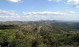 Mirangaba - Mirangaba-BA-Vista da Serrá Tombado de Santa Cruz-Foto:losfotosderatonuguaçu