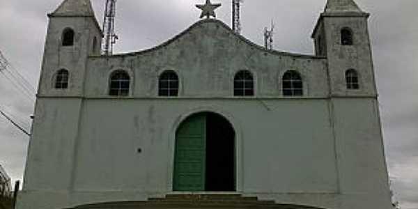 Mirangaba-BA-Igreja Matriz-Foto:Antonio Gabriel