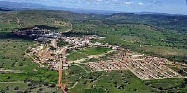 Mirangaba-BA-Vista aérea da cidade e região-Foto:losfotosderatonuguaçu