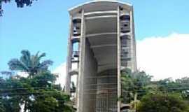 Brusque - Torre da Igreja Matriz por Walter Leite