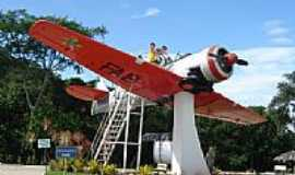 Brusque - Avião Simulador de Vôo-Brusque-SC Por Claudirene