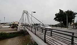Brusque - Ponte Estaiada Irineu Bornhausen em Brusque-SC-Foto:Sandro Salomon