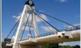 Brusque - ponte estaiada do centro, Por Jéssica Daiane Ribeiro
