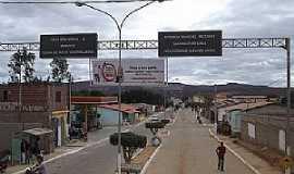 Mirante - Mirante-BA-Entrada da cidade-Foto:bomjesusnoticias.com.br